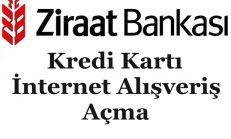 Ziraat Bankası Kredi Kartı İnternet Alışveriş Açma