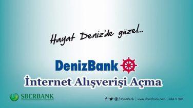 Denizbank İnternet Alışverişi Açma