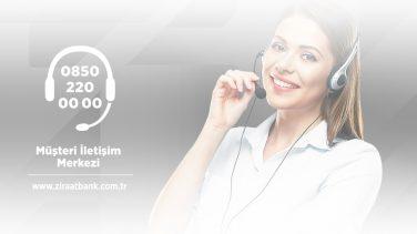 ziraat bankası müşteri hizmetlerine nasıl bağlanabilirim