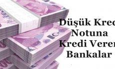 Düşük Kredi Notuna  Kredi Veren Bankalar – 2018 YENİ