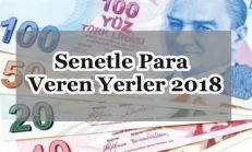 Senetle Para Veren Yerler 2018
