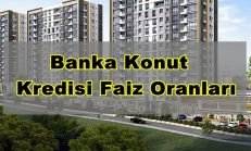 Banka Konut Kredisi Faiz Oranları ( Mortgage )