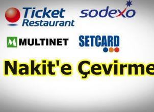Ticket Kartı Paraya Çeviren Yerler Nakit'e Çevirme