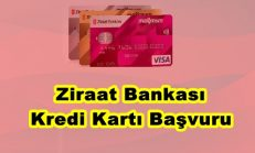 Ziraat Bankası Kredi Kartı Başvuru