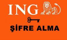 İNG Bank Şifre Alma, İng Bank Kart Şifresi Yenileme