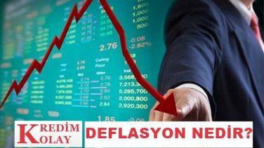 Deflasyon Nedir? Deflasyon Nedenleri ve Ekonomiye Etkileri
