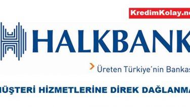 Halkbank Müşteri Hizmetleri Direk Bağlanma 2020