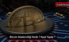 Bitcoin Madenciliği Nedir ? ( Bitcoin Mining )