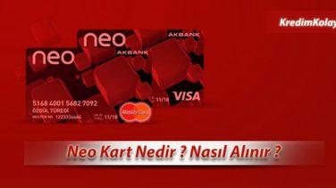 Neo Kart Nedir – Nasıl Alınır ?