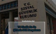 TC Kimlik No İle Şifresiz SGK Sorgulama