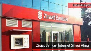 Ziraat İnternet Bankacılığı Şifre Alma