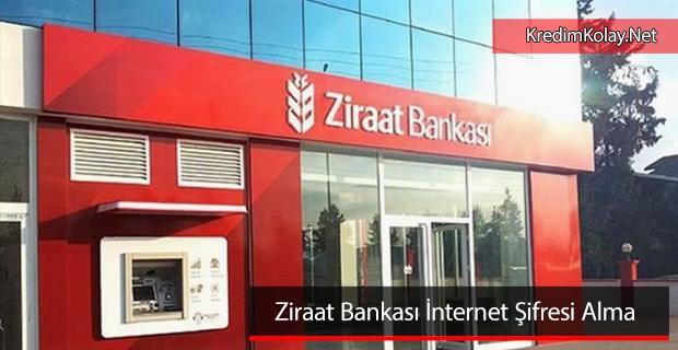 ziraat bankası internet şifresi alma