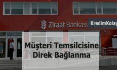 Ziraat Bankası Müşteri Hizmetleri Direk Bağlanma 2019