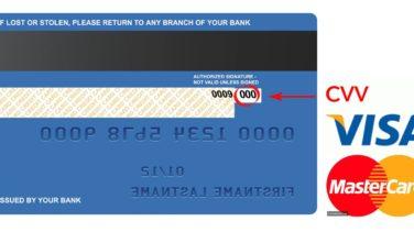 Kredi Kartı Güvenlik Kodu ( CVV ) Nedir?